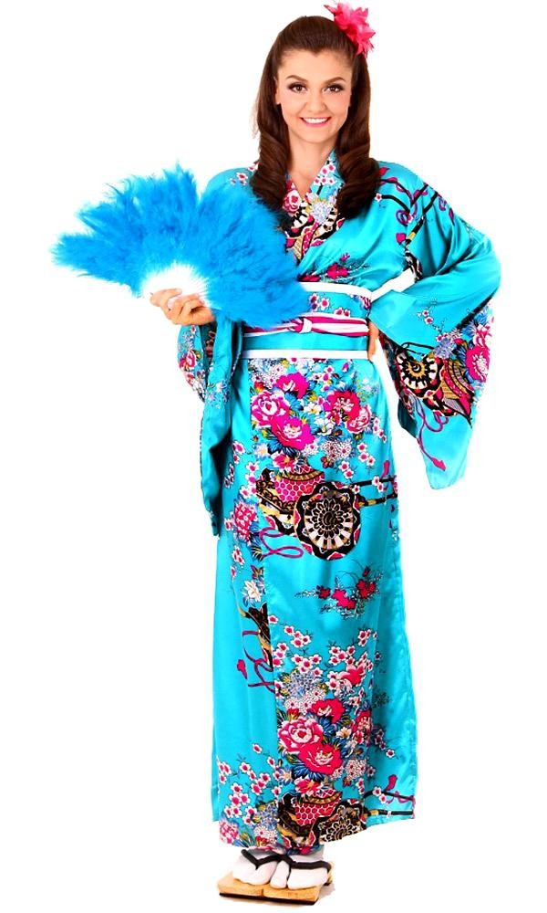 Blue Kimono Dress Long Kimono Kimono Online