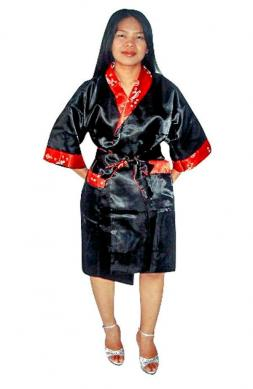 Unisex Silk Bathrobe