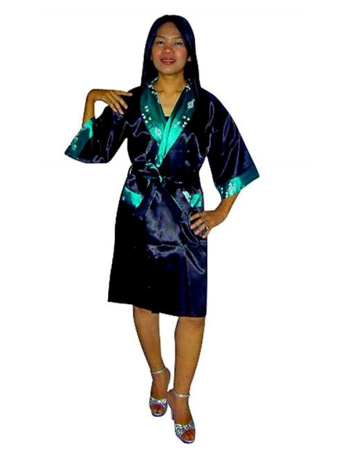 Luxurious Silk Robe M