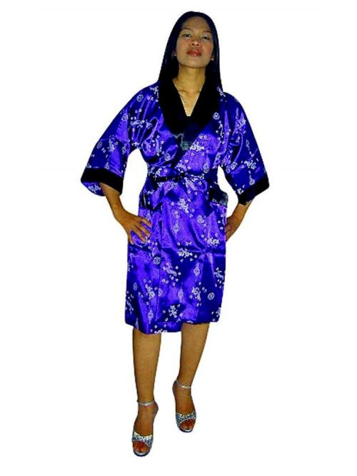 Elegant Silk Robe