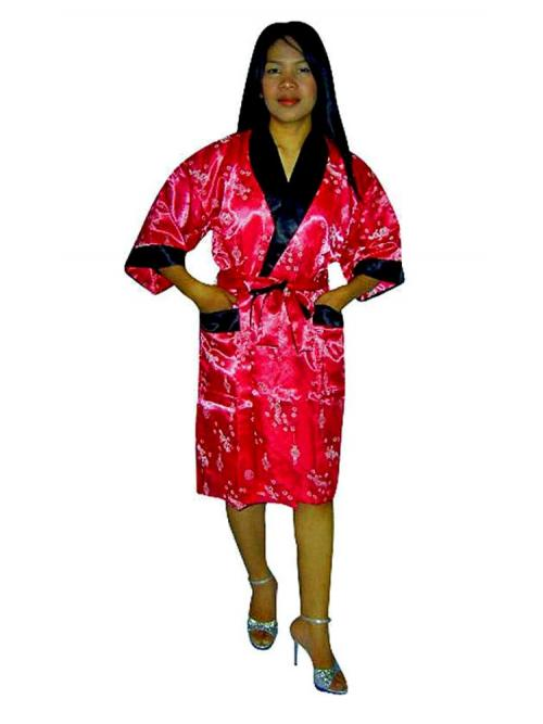 Asian Silk Robe M