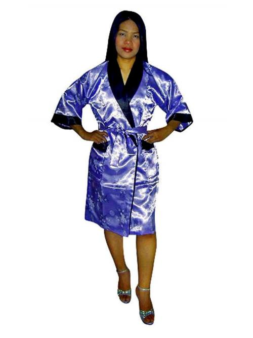 Oriental Silk Robe XL