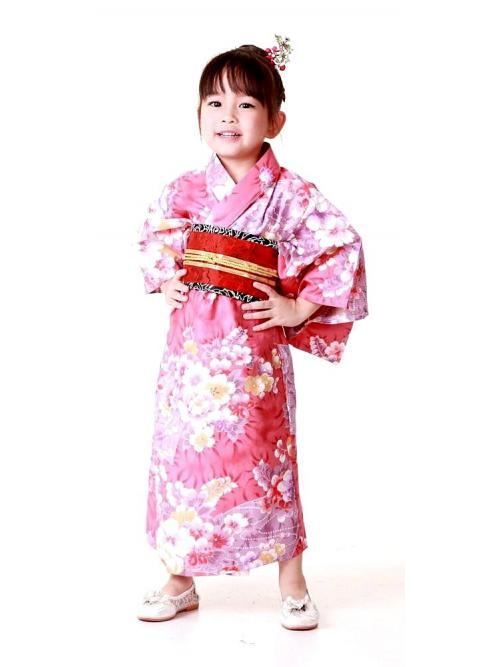 Pinky Pop Japanese Robe One Size