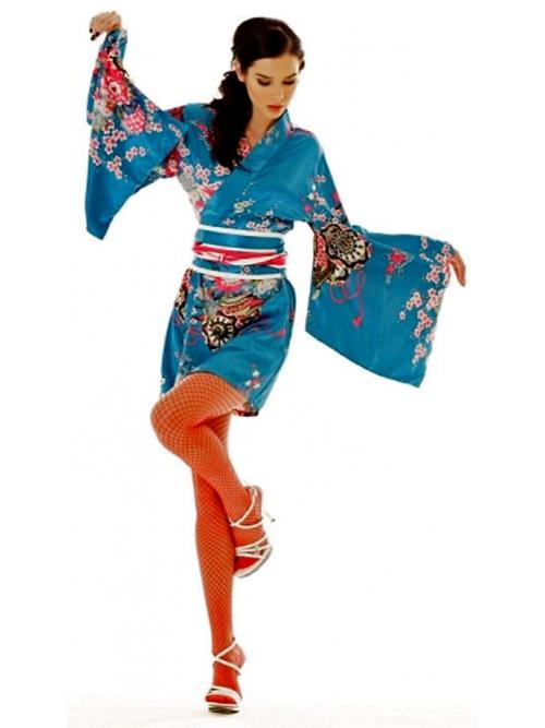 Short Yukata Robe One Size